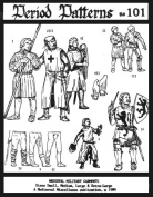 Mediaeval Military Garments Patterns