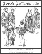 High Mediaeval Houpelandes for Men and Women Pattern