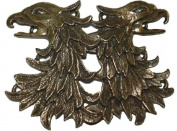 Cloak or Cape Clasp- Gryphon - Bronze Plated