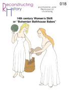 14th century Women's Smock or Chemise Pattern