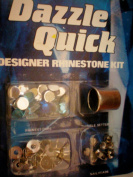 Dazzle Quick Designer Rhinestone Kit -- rhinestones, thimble setter, settings, nailheads
