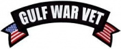 Gulf War Vet Rocker Back Patch