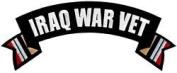 Iraq War Vet Rocker Back Patch