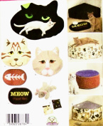 OOP Simplicity Pattern 4765. Cat Beds & Accessories. Throws; 33cm & 20cm Corner Beds; Large & Small Round Beds; Food Bowl Mat; Catnip Mouse & Catnip Pouches