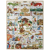 Design Works Counted Cross Stitch Kit 41cm x 50cm