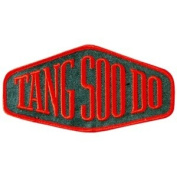 Shield Patch - Tang Soo Do - 13cm wide - 10 Pack