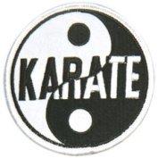 Yin & Yang Patches - Karate - 7.6cm - 1.3cm Dia. - 10 Pack