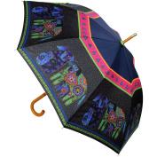 Laurel Burch Stick Umbrella 110cm Canopy Auto Open