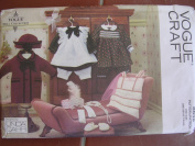 Vogue 46cm Doll Collection Sewing Pattern 8648