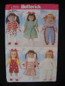 Butterick 5295 46cm Doll Clothes Pattern