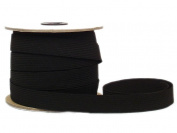 Conrad Jarvis Designer's Choice Elastic Flat Braid Reel Black 3/4x 30 yd 30 Yards