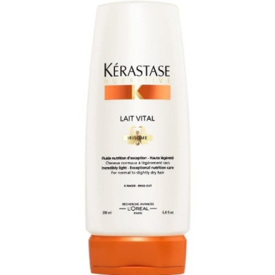 Nutritive Lait Vital Incredibly Light - Exceptional Nutrition Care (For Normal to Slightly Dry Hair), 1000ml/34oz