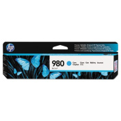 D8J07A (980) Ink, 6600 Page-Yield, Cyan