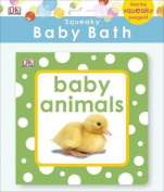 Squeaky Baby Bath Book Baby Animals
