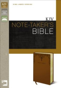 KJV, Note-Taker's Bible, Imitation Leather, Tan, Red Letter Edition