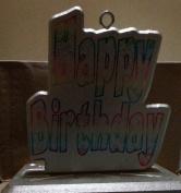 'HAPPY BIRTHDAY', Deluxe Balloon Holder