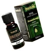HealthAid Basil Oil (Ocimum basilicum) 5ml