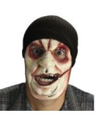 Stocking Cap with Scar Face Mask