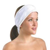White Spa Terrycloth Headband, 7.6cm X 60cm , Soft N Comfortable