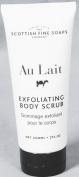 Scottish Fine Soaps Au Lait Exfoliating Body Scrub 210ml