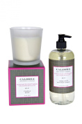 Rosewater Driftwood scented 240ml Candle and 470ml Hand Soap