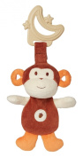 My Natural Sensory Eco Teether, Brown Monkey