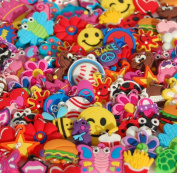 Girls charms for loom bracelets. Fits all rubberband products. 25 Different styles.