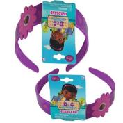 Disney Doc McStuffins Wide Headband - Girls Hair Accessory