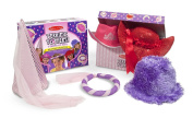 Melissa & Doug Terrific Toppers Dress-Up Hats, Pink/Purple