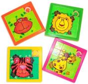 Zoo Animal Slide Puzzles