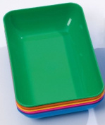 Set of 5 Small Coloured Trays