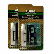 Cassette Tape Player Head & Capstan Cleaner Kit 2 Piece Lot