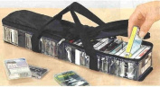 CASSETTE STORAGE CARRY CASE - STORES UP TO 31 CASSETTES!