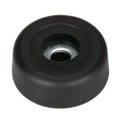 Penn-Elcom F1693 Rubber Cabinet Foot 2.5cm Dia. x 1cm H
