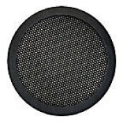 "10cm and 13cm "" Diameter 2-Pc Mesh Speaker Grill - Black"