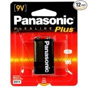 Panasonic Alkaline Plus Batteries, 9 Volt