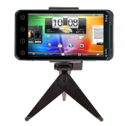 DBTech Ultra Compact Mini Tripod Stand for HTC EVO 3D (Sprint) - Great for Video and Chat