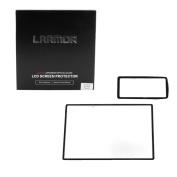 LARMOR 0.5mm Self-Adhesive Optical Glass LCD Screen Protector for NIKON D7100