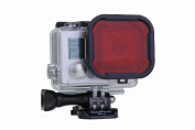 GoPro Hero3+ Red filter -Aqua3+-GoPro Hero3 Plus Accessory