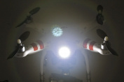 DJI Phantom Quadcopter Bright White Head Light Kit