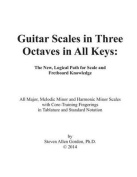 Guitar Scales in Three Octaves in All Keys