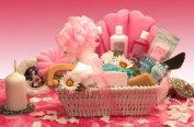 Ultimate Spa Deluxe Relaxation Bath & Body Spa Gift Basket GBA