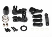 Traxxas 6845X Steering Bellcranks Horns Spring and Retainer Truck