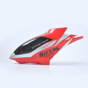 S033G-01 Replacement Head Cover Yellow/Red Canopy for SYMA S033 GIANT 80cm ALLOY 3.5CH RC HELICOPTER Spare Parts