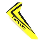Blade Yellow Vertical Fin w/decal