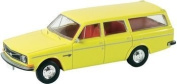 HO Scale 1968-73 Volvo Series 145 Station Waggon - Assembled -- Zinc Yellow