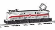 Bachmann 41703 O PRR GG1 Silver 1 Stripe Locomotive Model Train Set