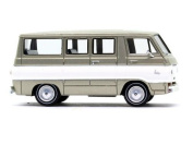 HO Scale 1964 Dodge A 100 Passenger Van - Assembled -- Custom Sportsman