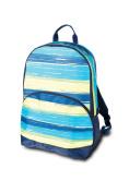 Room It Up Surfer Stripe Backpack