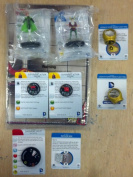 HeroClix Superman & the Legion of Superheroes OP Kit s101 s102 s103